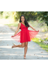 Dresses 22 Tulle Time Red Formal Dress