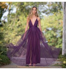 Dresses 22 Tulle Occassion Plum Formal Dress