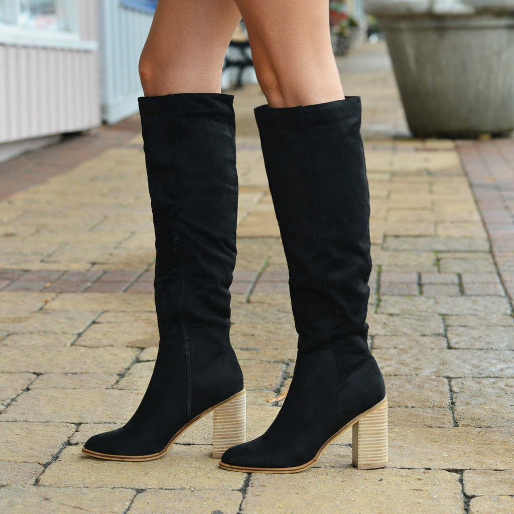 Shoes 54 Suede My Way Tall Boots