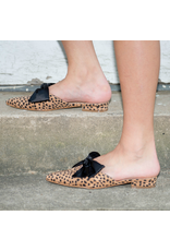 Shoes 54 Wild One Bow Cheetah Slide