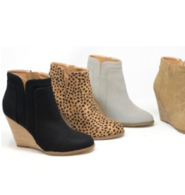 Shoes 54 Wedge Bootie