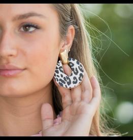 Jewelry 34 Leopard Round Earrings