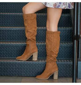 Shoes 54 Suede My Way Tall Tan Boot