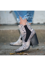 Shoes 54 Snake Beige/Brown Bootie