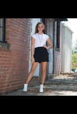 Skirts 62 Hello Cutie Black Smocked Skirt