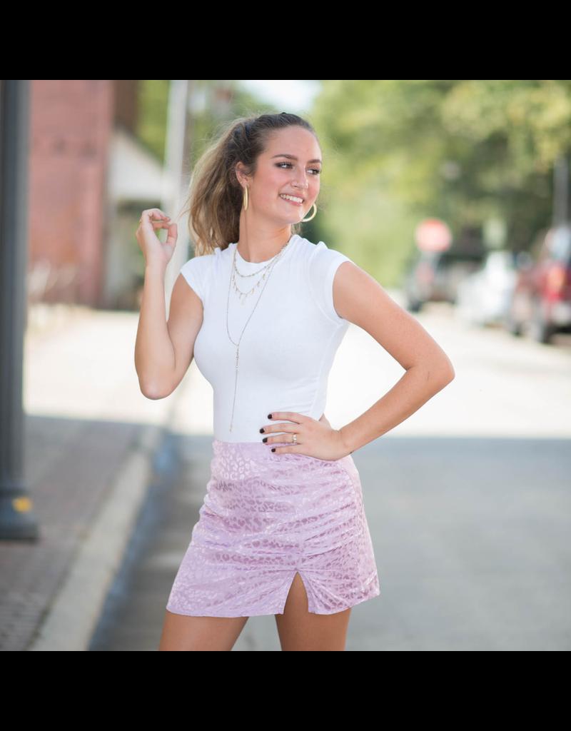Skirts 62 Leopard Love Lavender Skirt