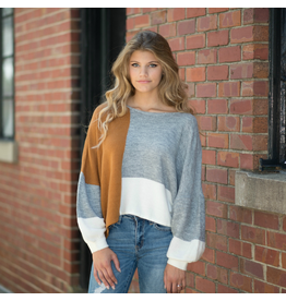 Tops 66 Fall Crush Colorblock Sweater