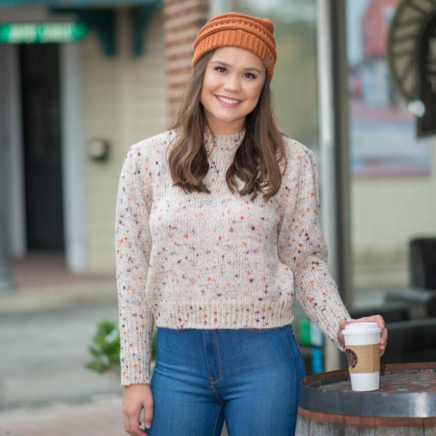 Tops 66 Fall Feels Speckle Sweater