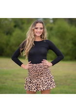 Tops 66 Basic Fitted Long Sleeve Crop Top