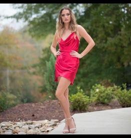 Dresses 22 Satin Dream Red Dress