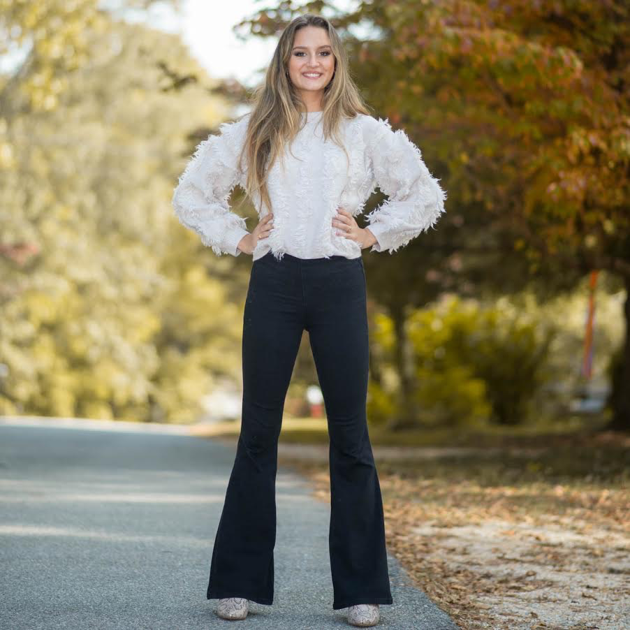 Pants 46 Fun Black Flares