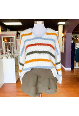Tops 66 Cozy and Soft Fall Stripe Sweater