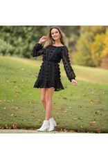 Dresses 22 Pretty Pom Pom Black Dress