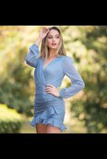 Dresses 22 Ruffle Dream Blue Dress