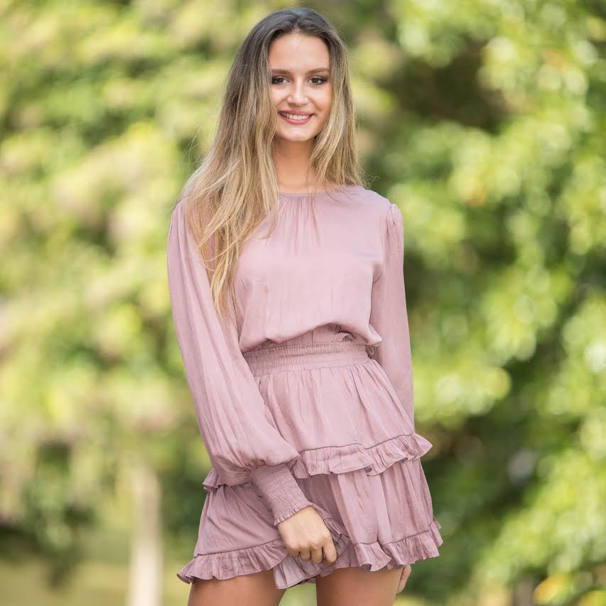 Dresses 22 Romance Misty Mauve Dress