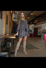 Dresses 22 Love Me Leopard Baby Doll Dress