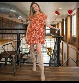 Dresses 22 Hello Baby Doll Dotted Pumpkin Dress