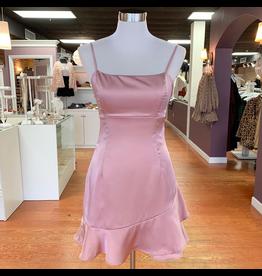 Dresses 22 Pink Satin Szn Dress