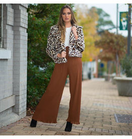 Pants 46 Pleated Toffee Party Pants