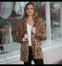Outerwear Leopard Fur Coat