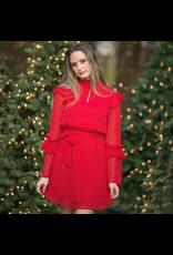 Dresses 22 Celebrate Red Ruffle Dress