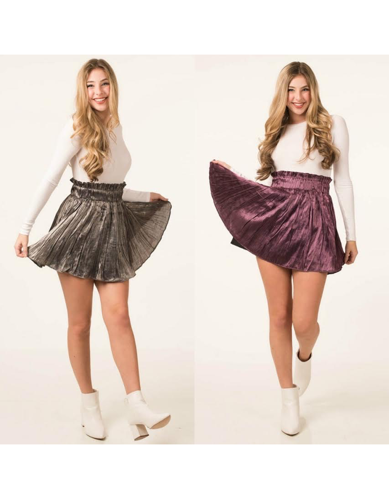 Skirts 62 Satin Ruffle Skirt