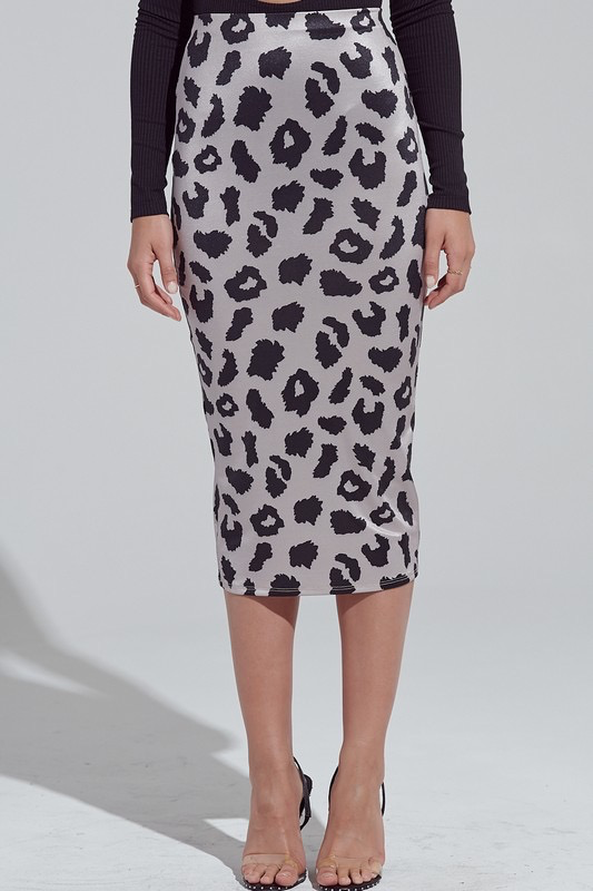 Skirts 62 Leopard Midi Pencil Skirt