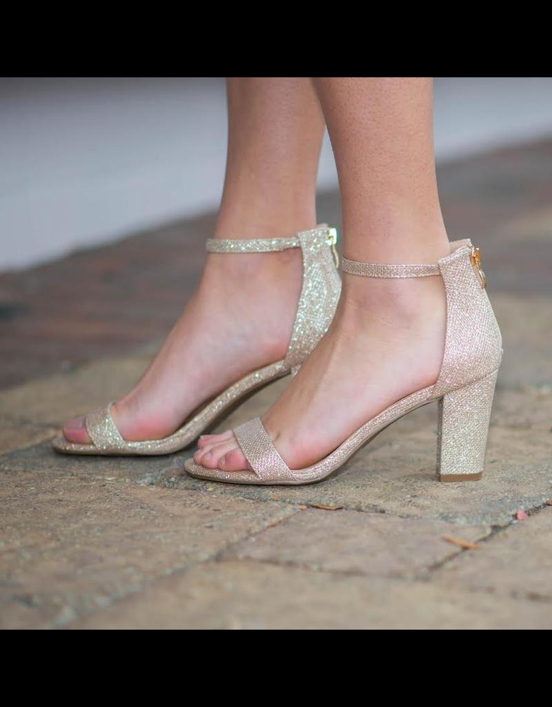 Shoes 54 Sparkle Party Block Heel