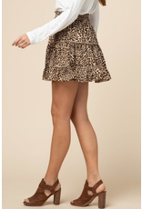 Skirts 62 Leopard Ruffle Skirt