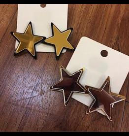 Jewelry 34 Mirrored Star Earrings