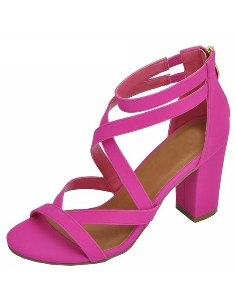 Shoes 54 Hot Pink Party Heel