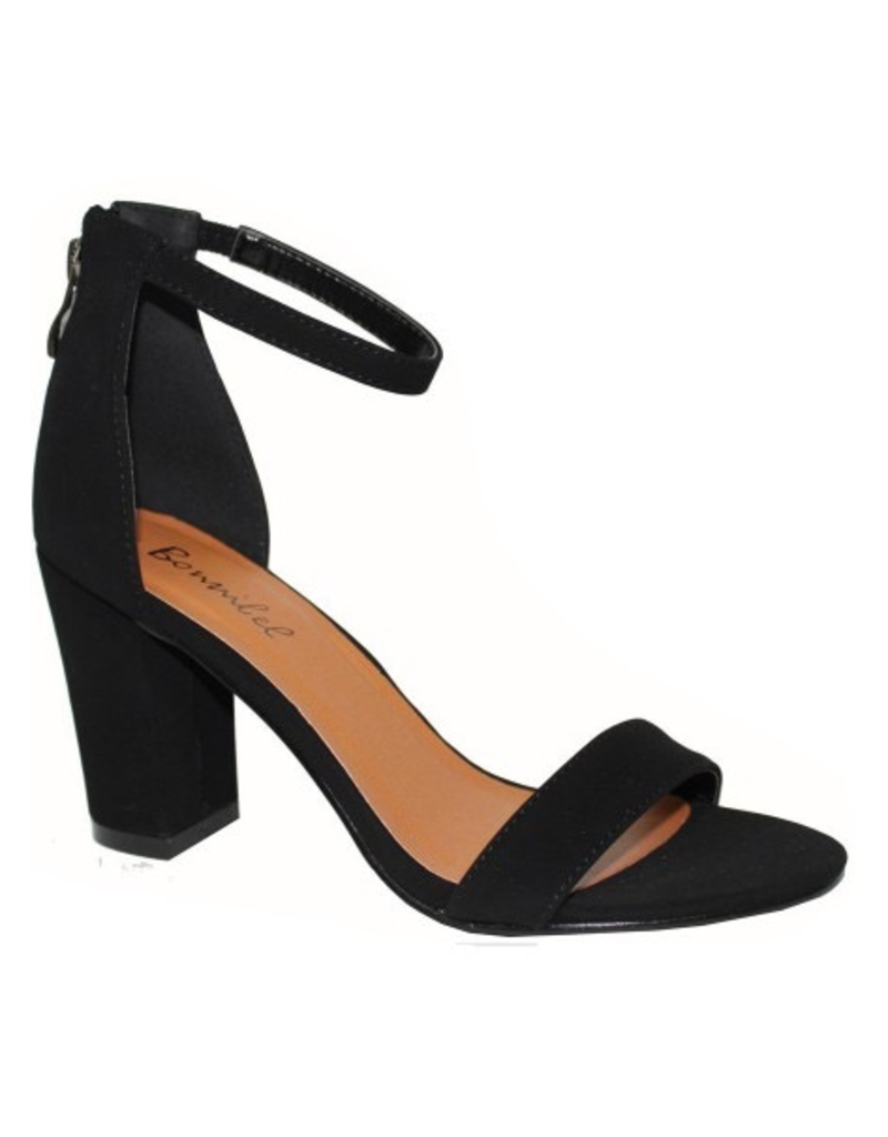 Default Black Essential Heels