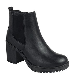 Shoes 54 Best Black Lugg Heel Boot