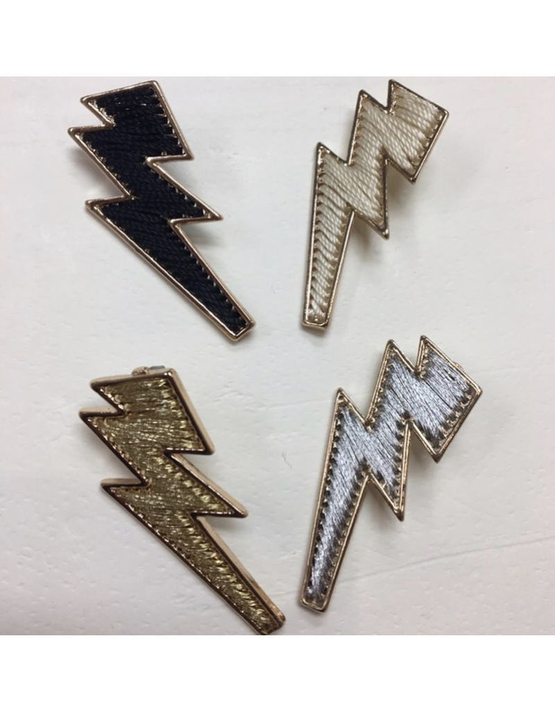 Jewelry 34 Thread Lightning Bolt Earrings
