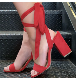 Shoes 54 Wrap Up Red Heel