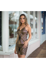 Dresses 22 Elegant Encounter Black/Gold Sequin Dress