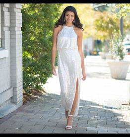 Dresses 22 Sparkle Dream Long Sequin Dress