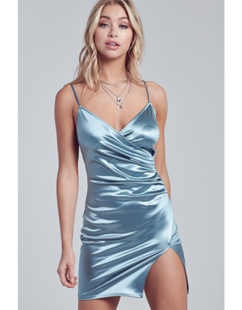 Dresses 22 Satin Semi Formal Dress