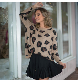 Tops 66 Leopard Love Sweater