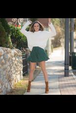 Skirts 62 Evergreen Ruffle Skort