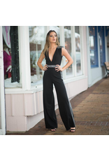 Jumpsuit Sparkle Occassion Black/Silver Jumpsuit