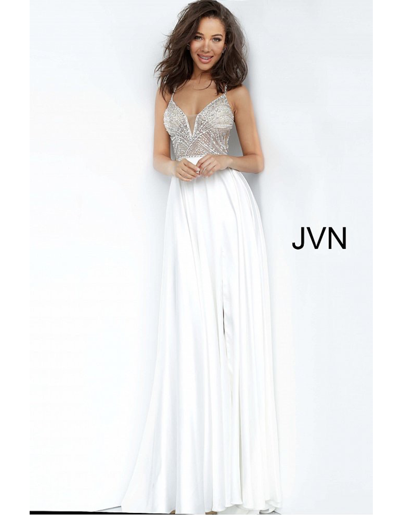 Formalwear Jovani Enchanted Moment Off White Formal Dress