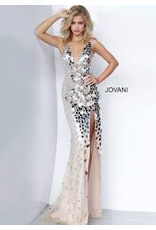 Dresses 22 Jovani Reflections Mirrored Formal Dress