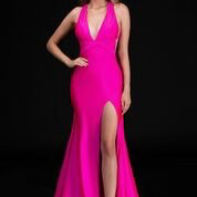 Dresses 22 Bright Now Hot Pink Formal Dress