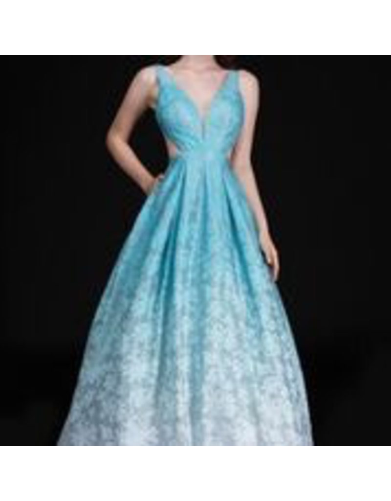 Dresses 22 Dreamy Mint Ombre Formal Dress