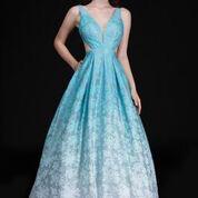 Dresses 22 Dreamy Mint Ombre Formal Dress