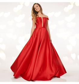 Formalwear Jovani Take My Breath Red Formal Dress