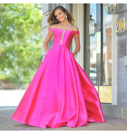 Formalwear Jovani Take My Breath Pink Formal Dress