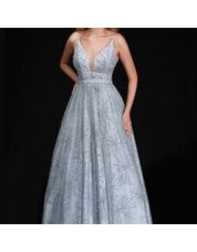 Dresses 22 Grand Entrace Silver Formal Dress