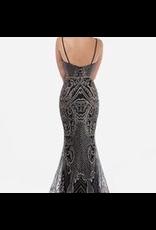 Dresses 22 Embellished Dream Black/Rose Gold Formal Dress